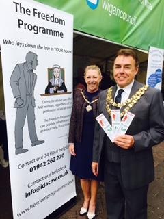 Wigan Mayor and Mayoress